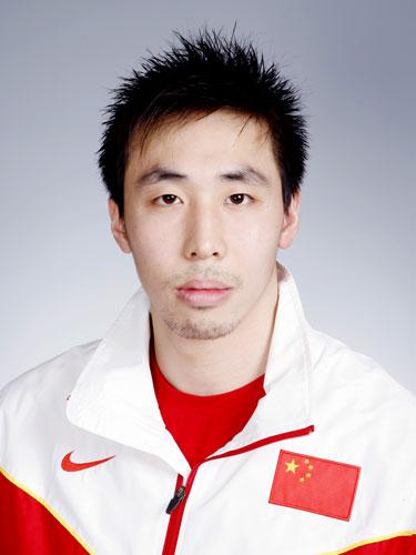 图文-北京奥运会中国代表团成立 游泳队队员陈寅