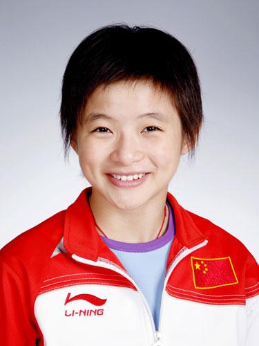 图文-北京奥运会中国代表团成立 跳水队队员王鑫
