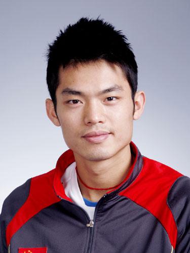 图文-北京奥运会中国代表团成立 羽毛球男队员林丹