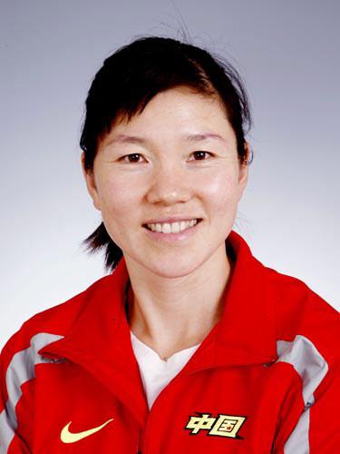 图文-北京奥运会中国代表团成立女曲队员陈朝霞