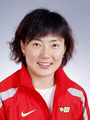 图文-北京奥运会中国代表团成立 女曲队员张益萌