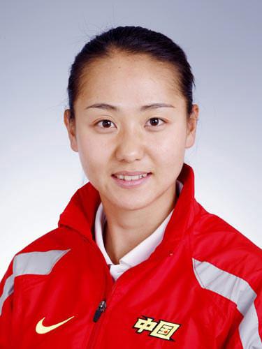 图文-北京奥运会中国代表团成立 女曲队员任烨