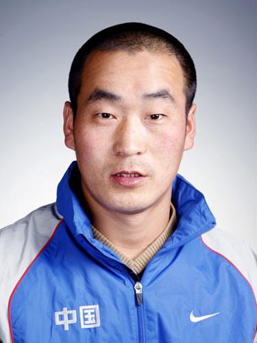 图文-北京奥运会中国代表团成立 男曲队员敖长荣