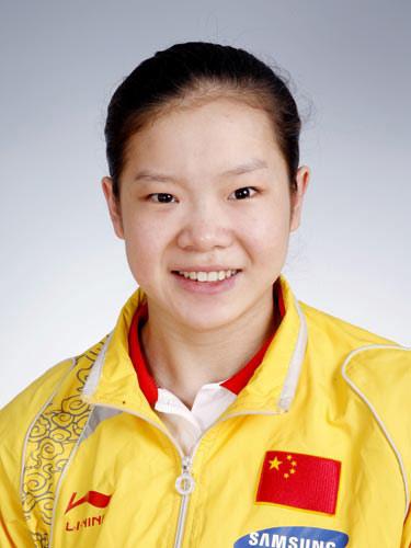 图文-北京奥运会中国代表团成立 体操队员程菲