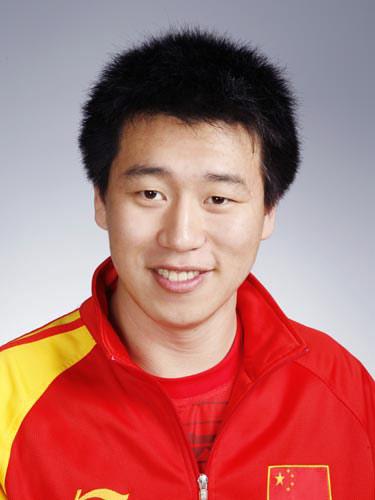 图文-北京奥运会中国代表团成立 射击队员庞伟