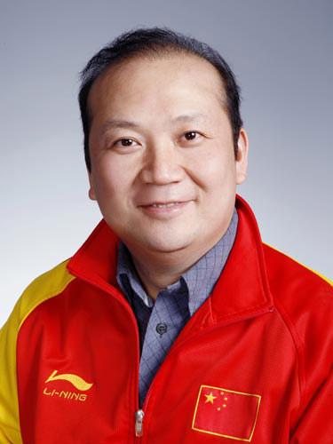 图文-北京奥运会中国代表团成立 射击队员贾占波