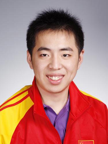 图文-北京奥运会中国代表团成立 射击队员曹逸飞