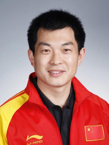 图文-北京奥运会中国代表团成立 射击队员刘忠生