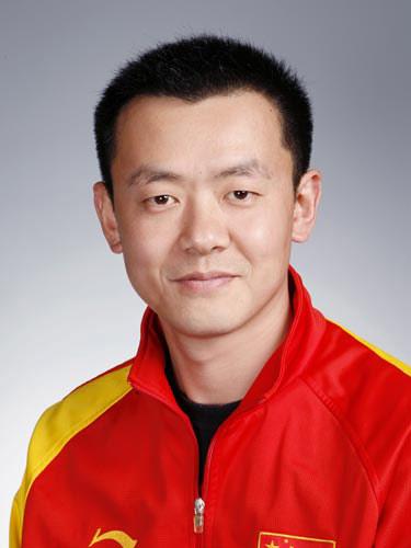 图文-北京奥运会中国代表团成立 射击队员李亚军