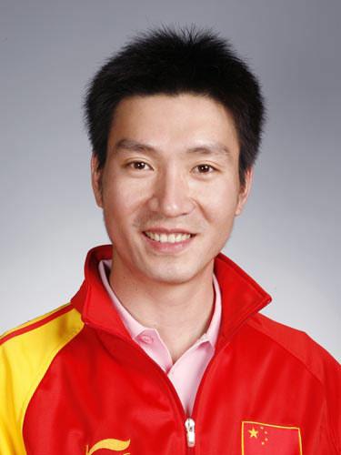 图文-北京奥运会中国代表团成立 射击队员胡斌渊