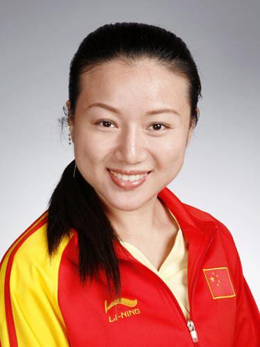 图文-北京奥运会中国代表团成立 射击队员任洁