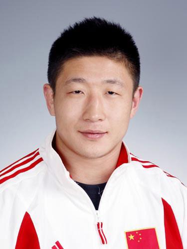 图文-北京奥运会中国代表团成立 柔道队员郭磊