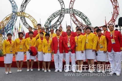 图文-北京奥运村举行开村仪式 柔道队兵多将广