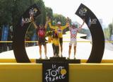 图文-2008环法落幕萨斯特雷夺冠总成绩前三名