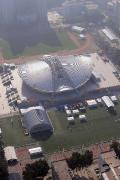 图文-航拍北京奥运场馆 俯瞰北京理工大学体育馆
