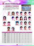 图文-08-09赛季女排联赛参赛队八一益阳高新区女排