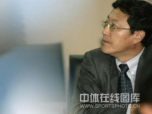 """图文-总局开会说明""""奖金门""""情况游泳中心主任李桦"""