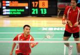 图文-香港羽毛球公开赛第三日赛况大马组合晋级