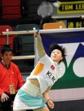 图文-香港公开赛第三日赛况周蜜胜印尼选手晋级