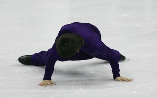 图文-花滑总决赛男单自由滑小冢崇彦并非完美