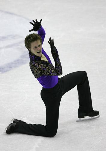 图文-花样滑冰大奖赛总决赛赛况亚伯特异军突起