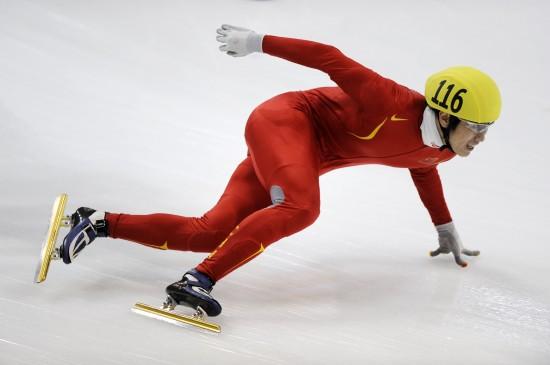 图文-短道速滑世界杯德国站落幕韩佳良奋勇争先