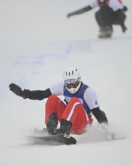图文-大冬会单板滑雪男子争霸赛安得利斯动作利索