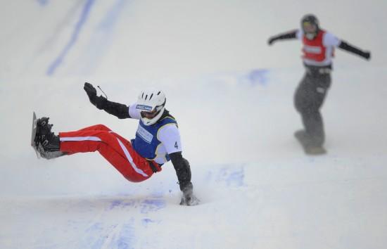图文-大冬会单板滑雪男子争霸赛安得利斯摘金