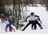图文-北欧两项集体出发项目日本夺冠团体协作