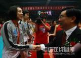 图文-女排联赛天津第六次夺冠上海女排收获亚军