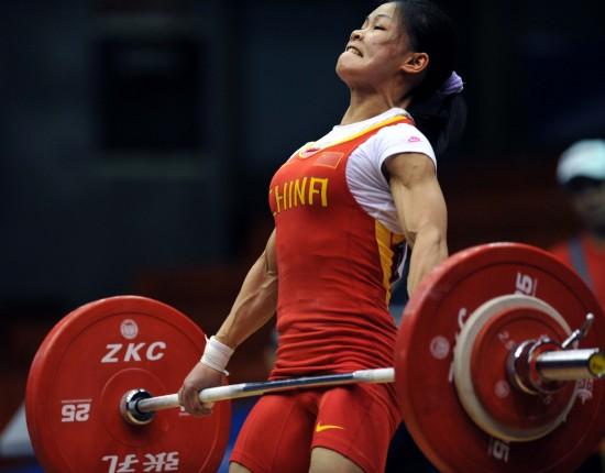 (现状)(4)举重女子赛况举重锦标赛48公斤级全国汶川跳伞十五壮士体育图片