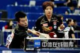 图文-世乒赛混双第二轮张超/姚彦晋级32强