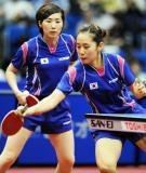 图文-世乒赛女双八强产生李恩姬轻轻巧巧回球