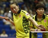 图文-世乒赛女双八强产生赛会头号种子的风采