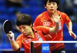 图文-世乒赛女双八强产生刘诗雯从来就不好对付