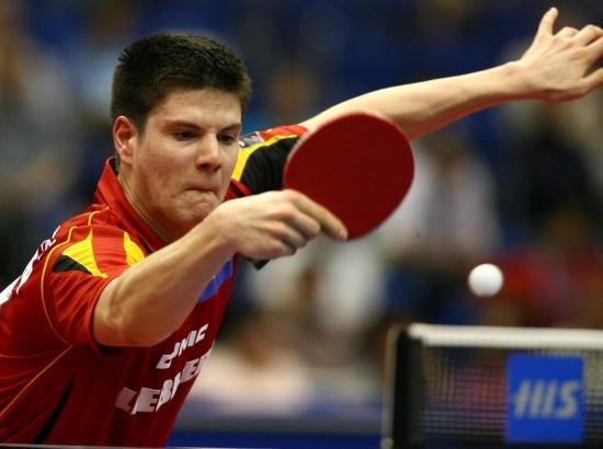 图文-世乒赛男单八分之一决赛奥恰洛夫难敌马龙