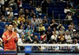 图文-世乒赛男单马琳4-3松平健太刘国梁站起来加油