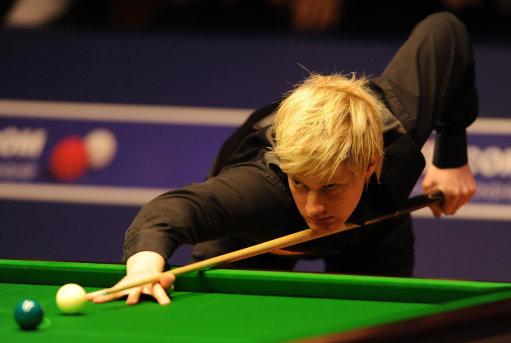图文-斯诺克世锦赛半决赛第二日罗伯逊紧追不舍