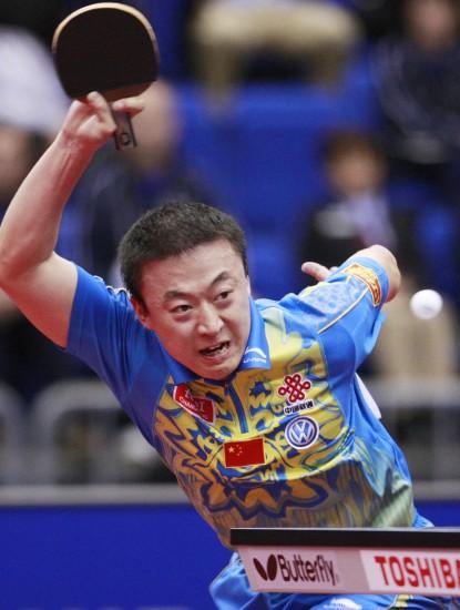 图文-世乒赛马琳闯入四强奥运冠军迈向大满贯