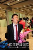 图文-中国乒乓球队从世乒赛凯旋马琳如释重负