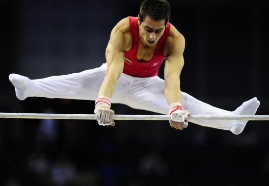 图文-世界体操锦标赛14日精彩赛况鲍汀科夫出场