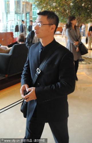 图文-张怡宁在北京完婚李小双西装革履