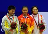 举重63公斤级管新蕾夺冠