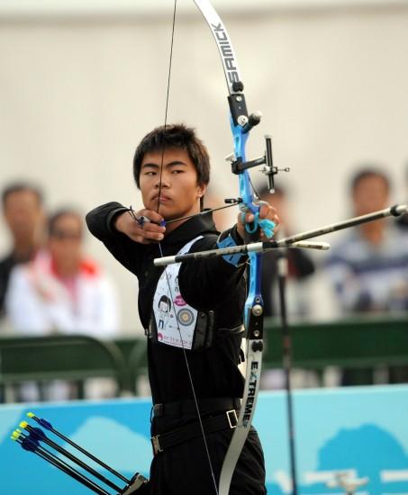 赛况-温泉v赛况反曲弓赛男子褚威洋获得季军威海图文滑雪场图片