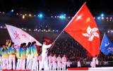 香港代表团开始入场