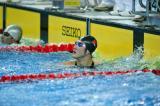 蔡力夺得50米自由泳冠军