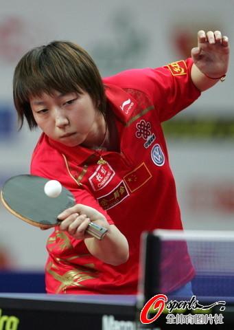 图文-乒球波兰赛女单决赛范瑛逆转朴美英夺冠
