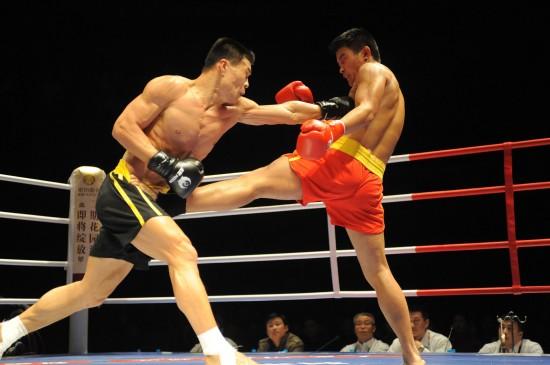 >  武术 图集 正文    12月12日,广东队选手边茂富(左)在80公斤级比赛