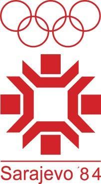 图文-历届冬奥会会徽一览 第14届萨拉热窝冬奥图片