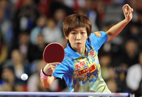 图文-[精英赛]刘诗雯夺女单冠军左右开弓寻良机